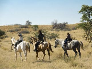 South Africa's Safari Secrets - horseback safaris at Tswalu