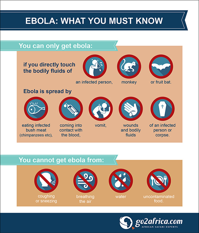Ebola: is safari travel still safe? Infographic