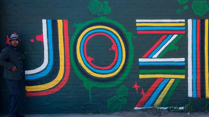 Joburg Street Art - Jozi