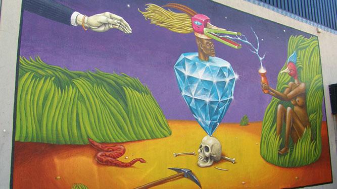 Joburg Street Art - surreal