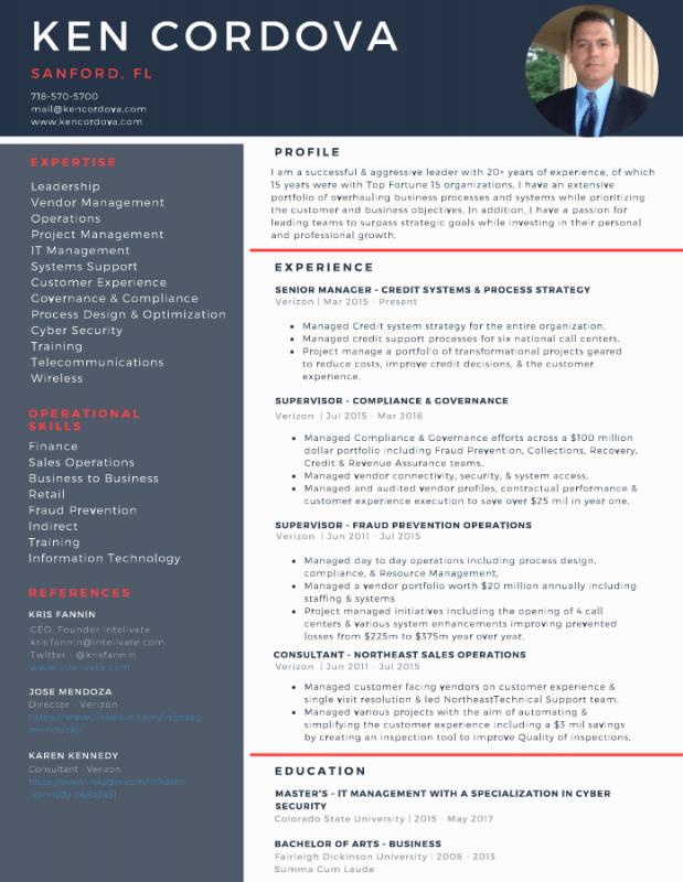 A Model Resume & Career Portfolio To Land A Dream Job