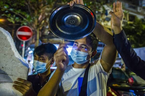Facebook faces reckoning in Myanmar after being blocked by military | The  Japan Times
