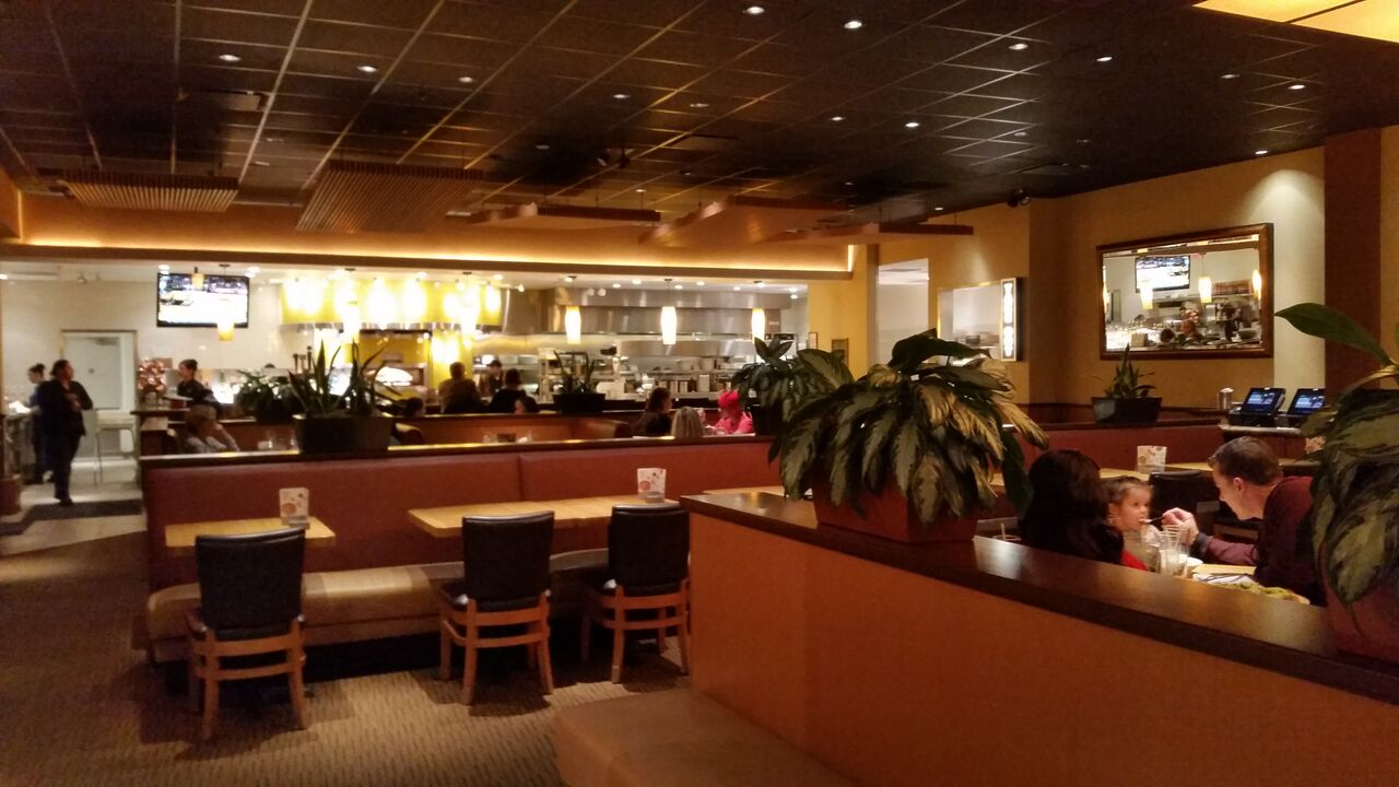 California Pizza Kitchen  Large Menu with Something for