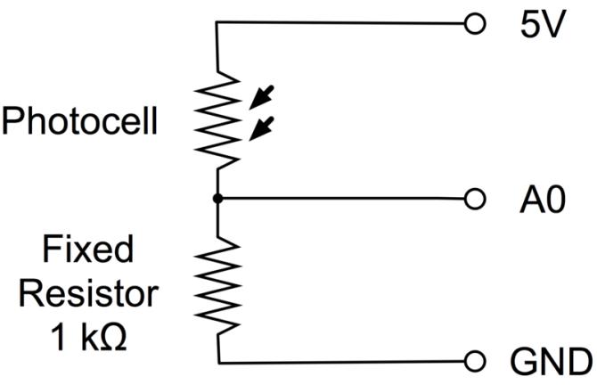 photocells  arduino lesson 9 sensing light  adafruit