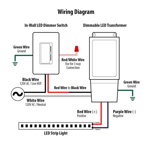 small resolution of dimmer switch wiring diagram red wire