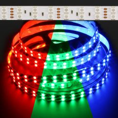 5050 Rgb Led Strip Wiring Diagram 1967 Vw Beetle 1500 Color Changing Double Row 144w Light
