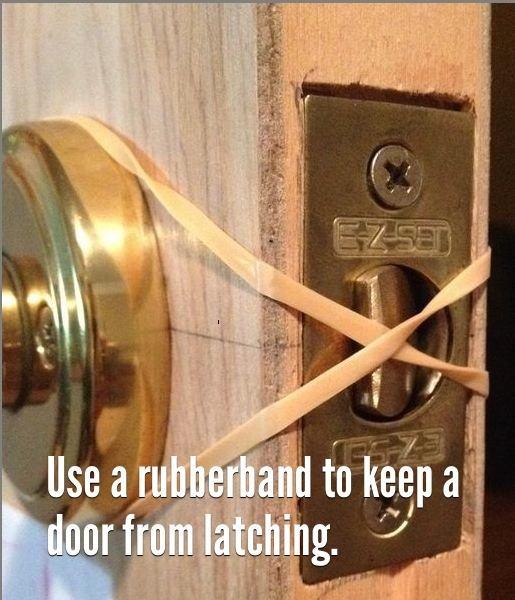 85 use a rubberband