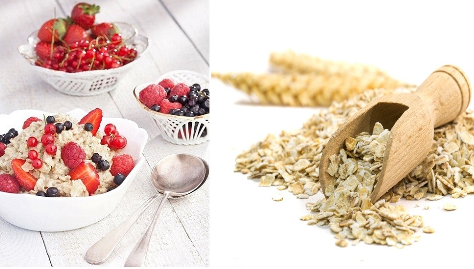Oatmeal, Whole Grains, High-fiber, Food, Oat Bran
