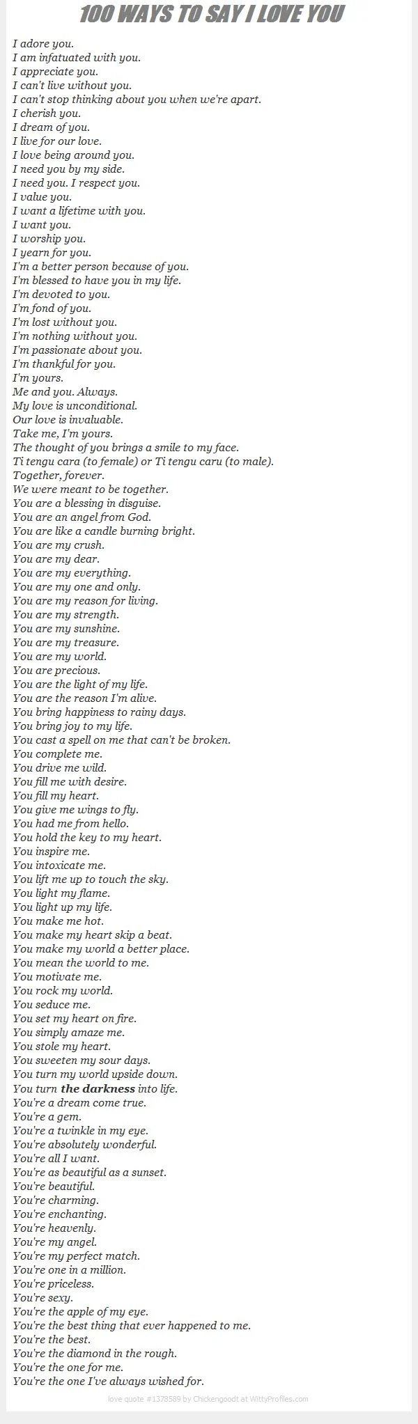 You Are My Forever Love Lyrics