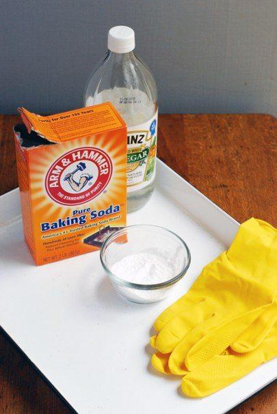 Clean Kitchen With Baking Soda
