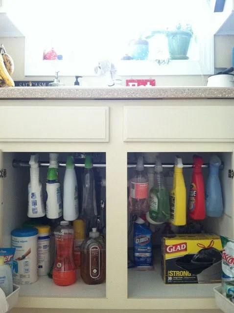 Organize Cleaning Products
