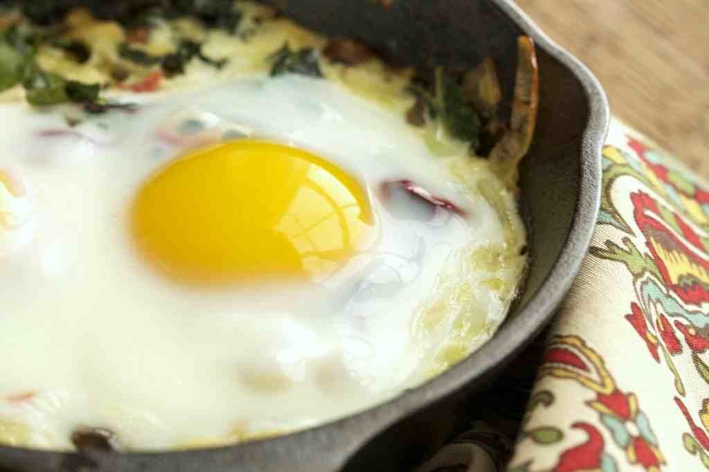 trứng cải xoăn