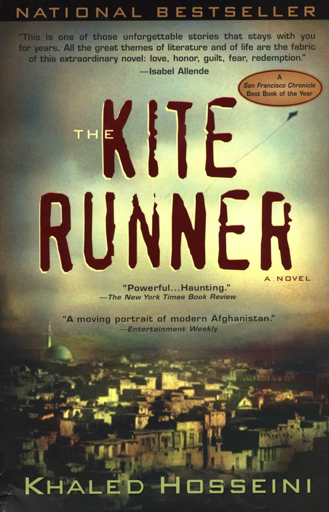 The Kite Runner by Khaled Hosseini (image Credit Riverhead Books) VIA Amazon.com