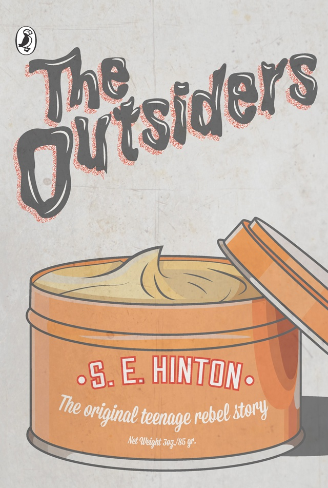 The Outsiders by S.E. Hinton (Image Credit Puffin Classics) VIA Amazon.com