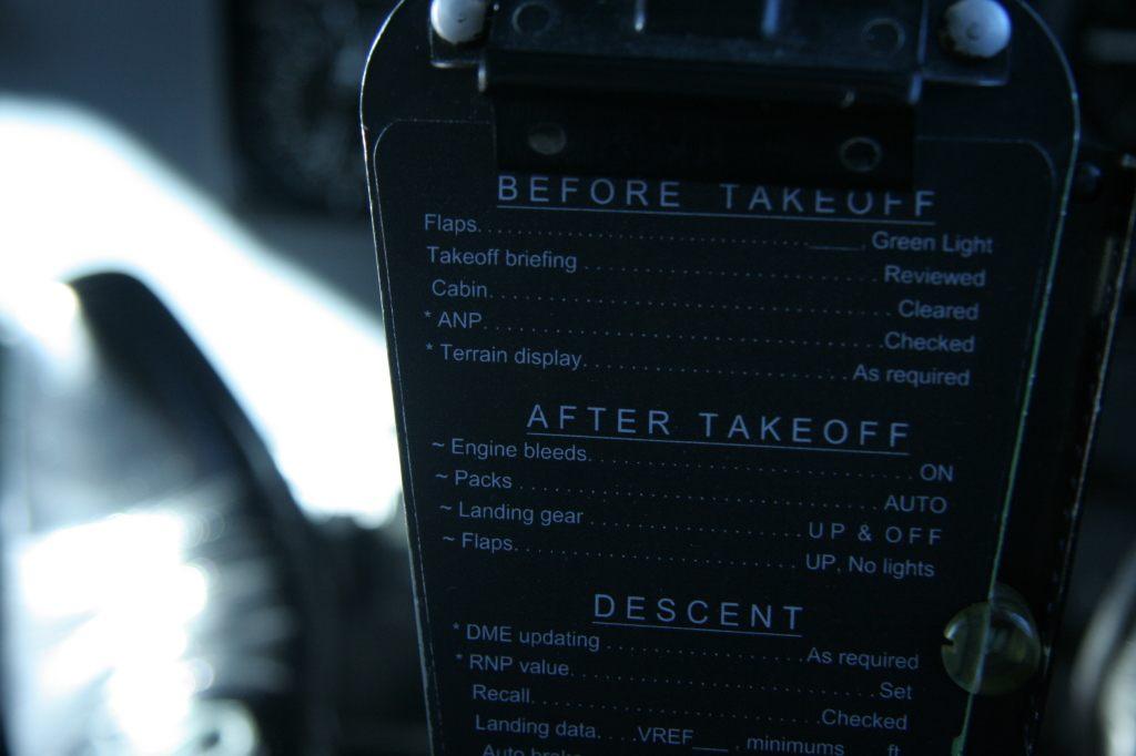 Flight Checklist