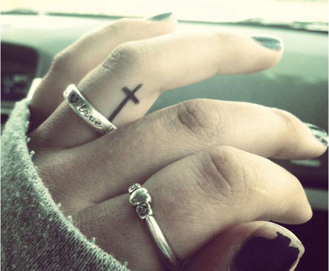 religious symbol tattoo