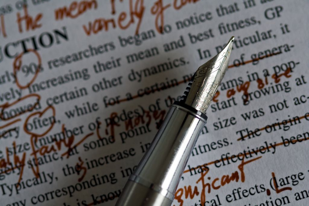 revisions on your writing
