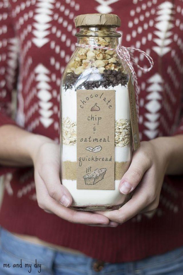 last minute gifts bread bottle