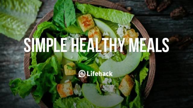 Simple healthy meals