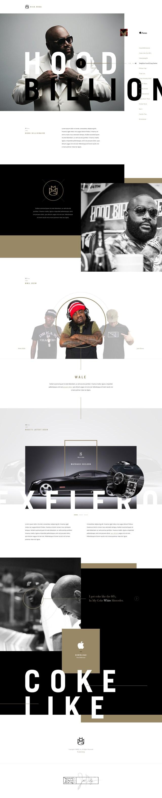 Whitespace in Web Design - Rick Ross