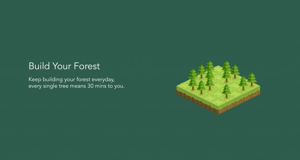 "Use ""Forrest"" To Plant Some Trees With Your Focusing Time and Power"