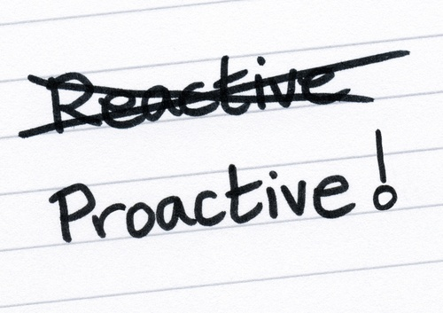 Are You Proactive or Reactive