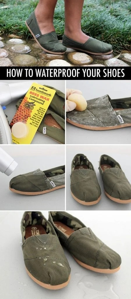 89 how to waterproof your shoes