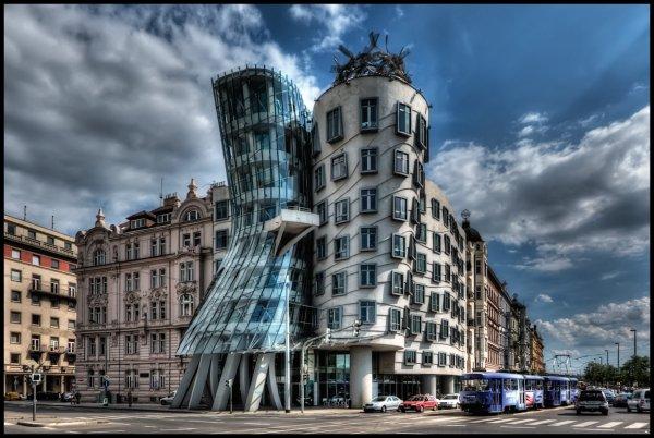 Architecture Dancing House Prague