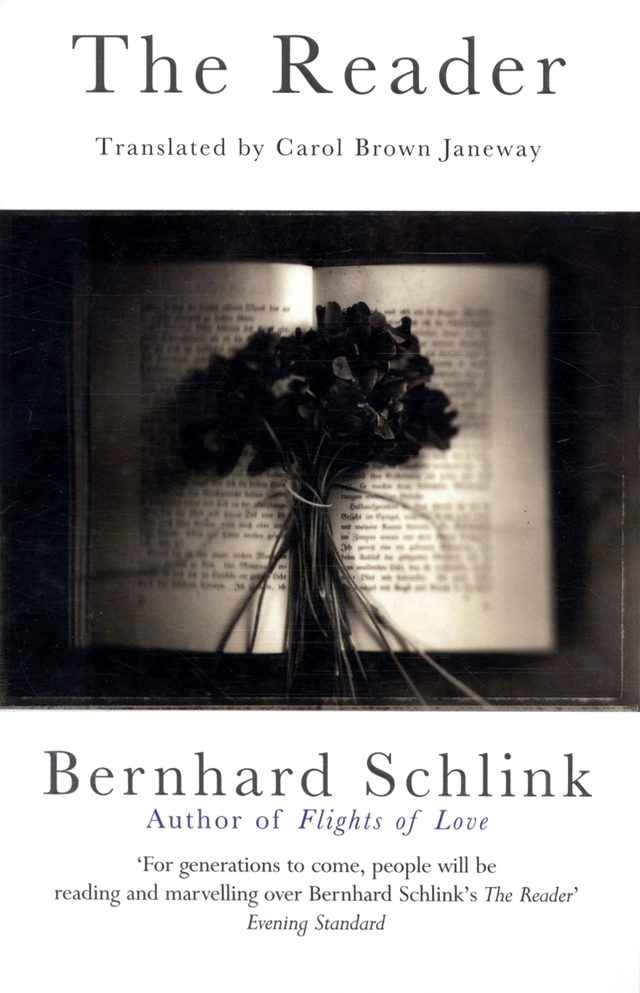 The Reader by Bernhard Schlink (image credit Tandem) VIA amazon.com