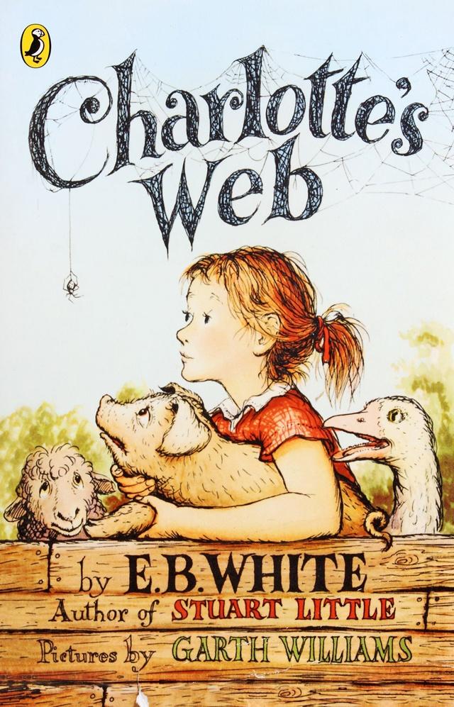 Charlotte's Web by E.B. White (image credit Puffin Classics)