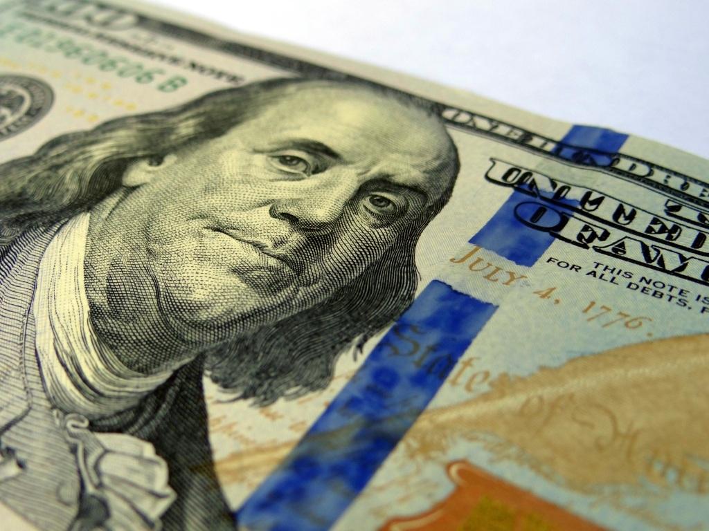Ben Franklin on 100 Dollar Bill