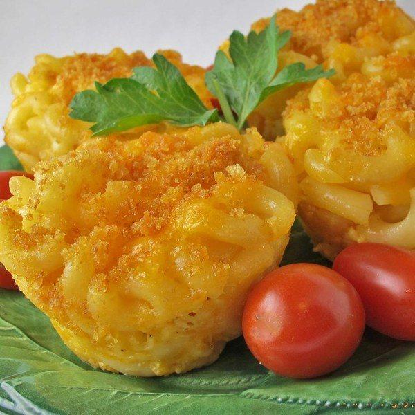 Mac'n'Cheese Muffins