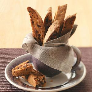 chai chocolate chip biscotti