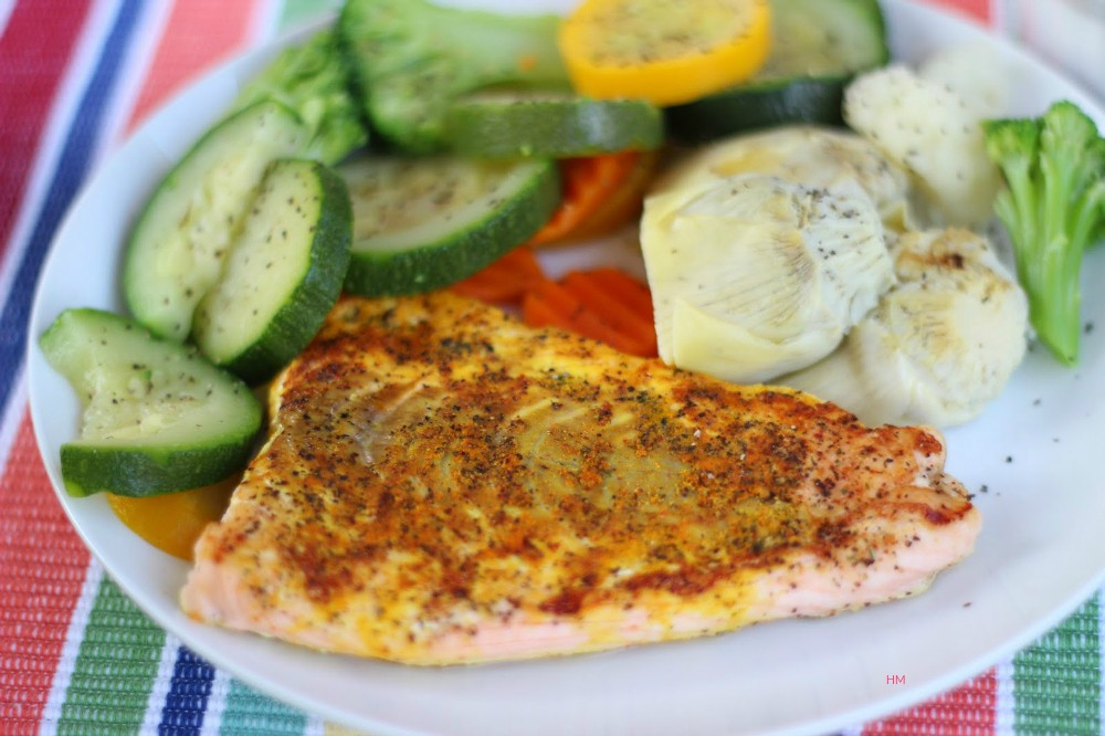 Steamed-Turmeric-Salmon-and-Peppered-Veggies-The-Soulful-Spoon-by-Heather-McClees