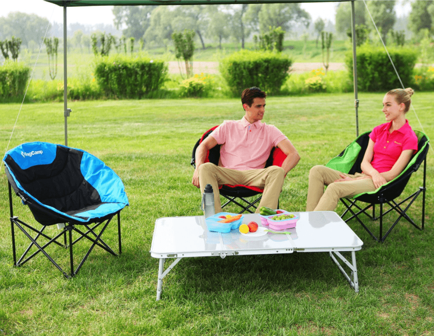 large saucer chair cover ergonomic to fix posture 10 must-have camping gear with low budget for nature enthusiasts