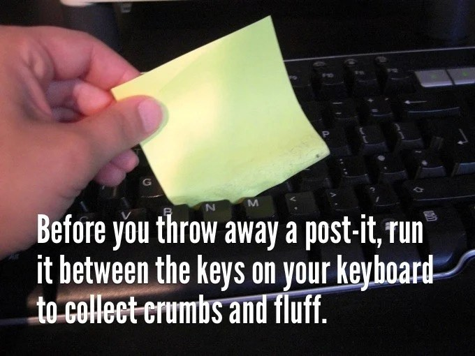 88 before you throw away a post it