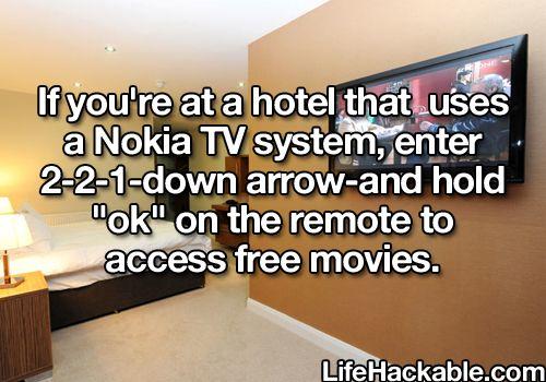 1 Minute Life Hack Hotel Trick