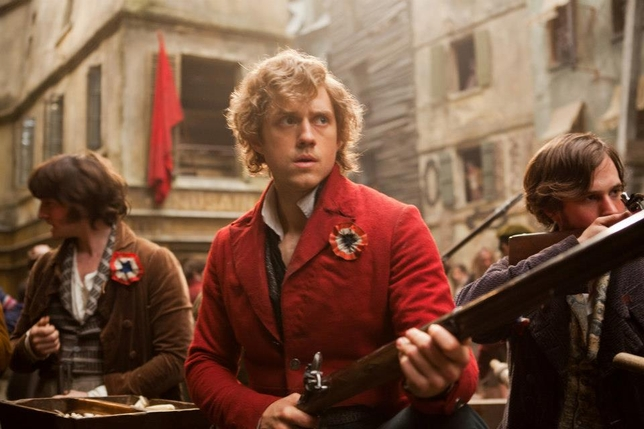 Les Miserables movie Les Miz Enjolras Aaron Tveit