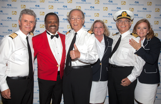 The Love Boat Cast Reunion On a Cruise Ship  Pic