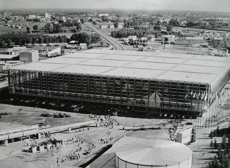 Palazzo del Lavoro a Torino dopo lultimo incendio a che