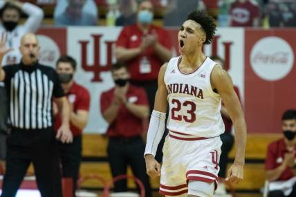Indiana's Trayce Jackson-Davis to return for junior season - The Athletic