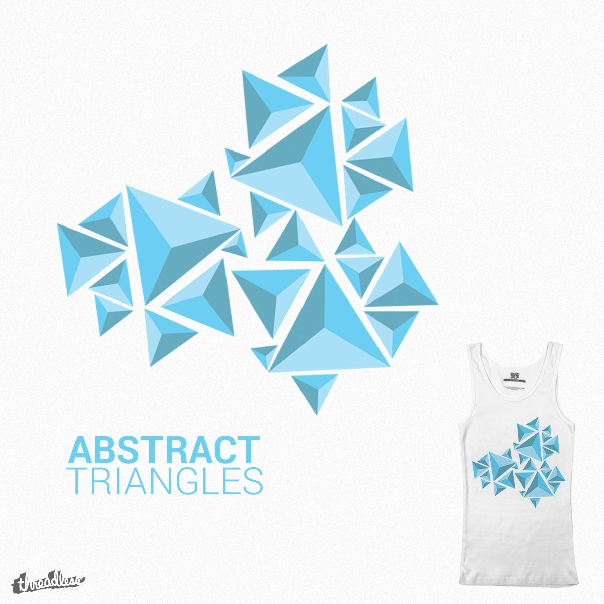 Score Abstract Triangles by BroPro on Threadless