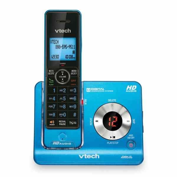 Blue VTech Cordless Phone System