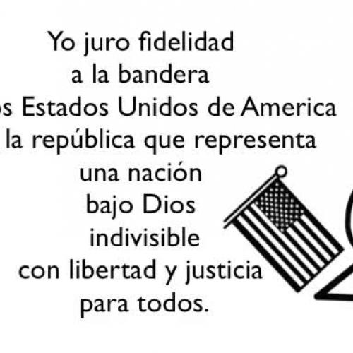 The Pledge in Spanish