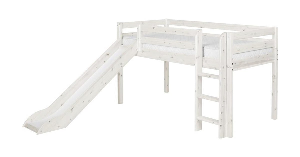 Flexa Half Height Bed Classic With Slide And Ladder
