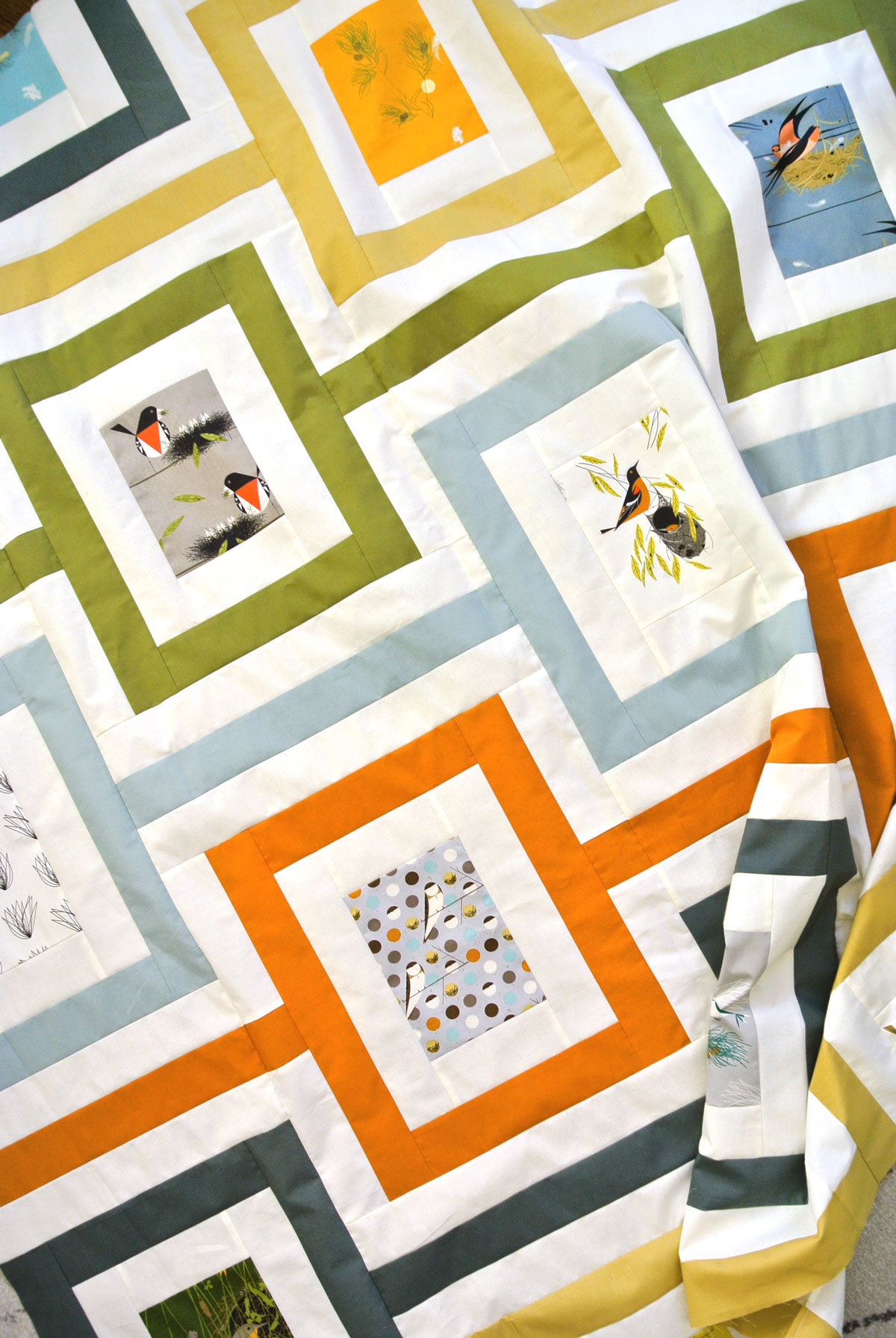 Mid-Century Modern Quilts - Feed Dog Designs
