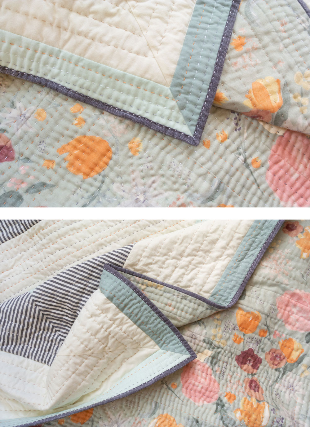 How To Hand Quilt (Hand Quilting Tutorial, Instruction and