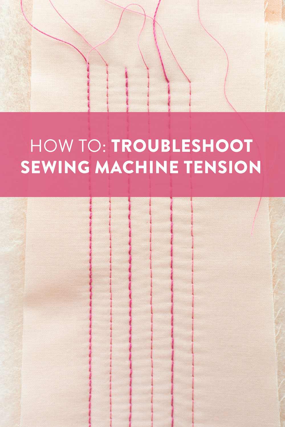 How To Fix Bobbin Tension : bobbin, tension, Troubleshoot, Sewing, Machine, Tension, Quilts