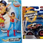 All Your Base Wonder Woman Truck Hot Wheels Monster Jam With Crushable Car Action Figure Wonder Woman Diana With Magic Lasso 15cm Bundle By All Your Base Shop Online For
