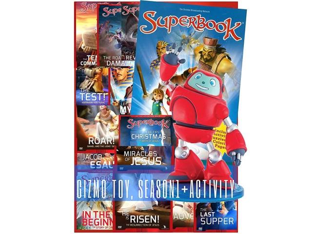 Superbook Gizmo Toy, Season 28 Full Set (283 Episodes) + Activity